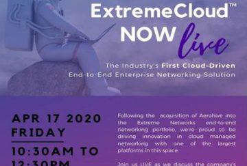 Hội thảo trực tuyến Extreme Cloud
